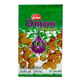 Munchee Onion Biscuits 170g