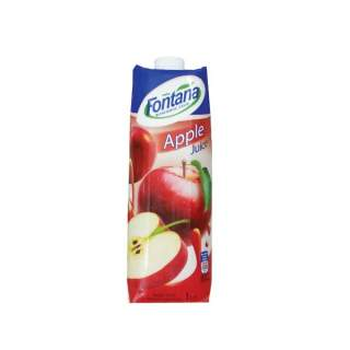 Fontana 100% Natural Apple Juices 1L