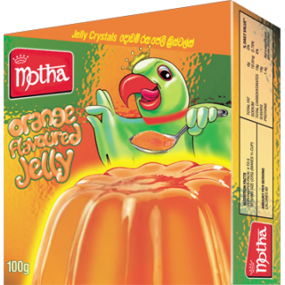 Motha Orange Jelly 100g
