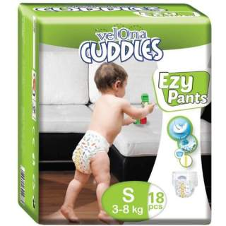 Velona Cuddles Easy Pants Small - 18Pcs