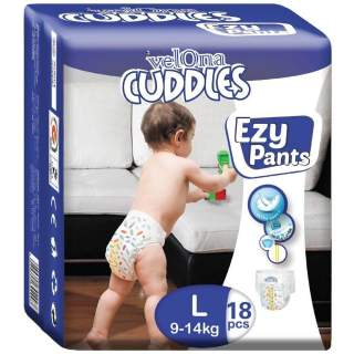 Velona Cuddles Easy Pants Large - 18Pcs
