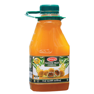 Edinborough Passion Fruit Cordial 750ml