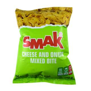 Smak Cheese and Onion Mixed Bite 100g