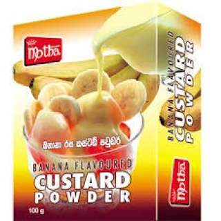 Motha Custard Powder - Banana 100g