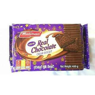 Maliban Chocolate Cream Biscuits 400g