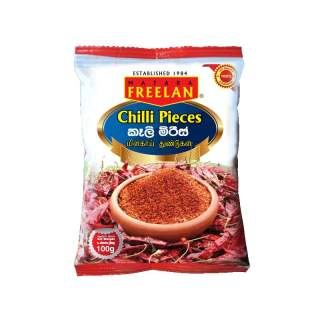 Chilli Pieces 100g (FREELAN)