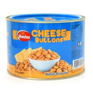 Munchee Cheese Buttons 215g