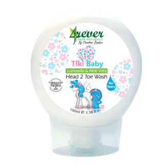 4Ever Tiki Baby Head 2 Toe Wash - 100ml