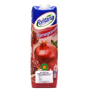Fontana 100% Natural Pomegranate Juices 1L