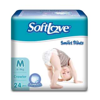 Softlove Smart Pants Medium - 24Pcs