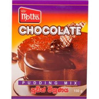 Motha Chocolate Pudding Mix 150g